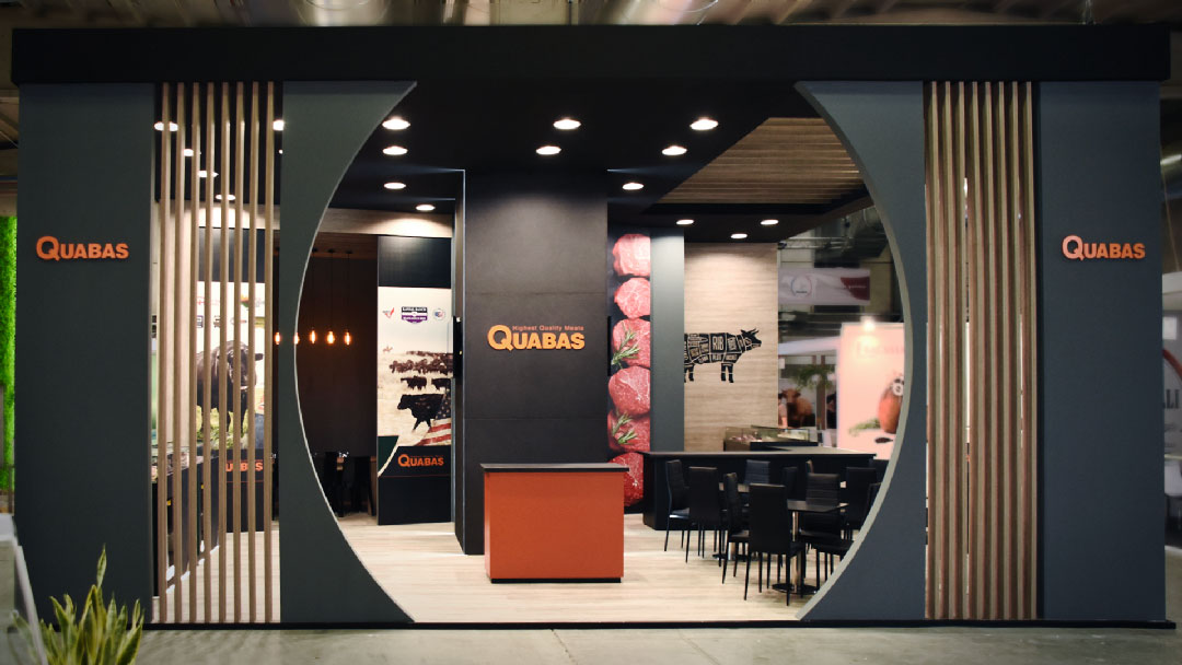 Creative direction Stand Gruppo Quabas Cibus 2018