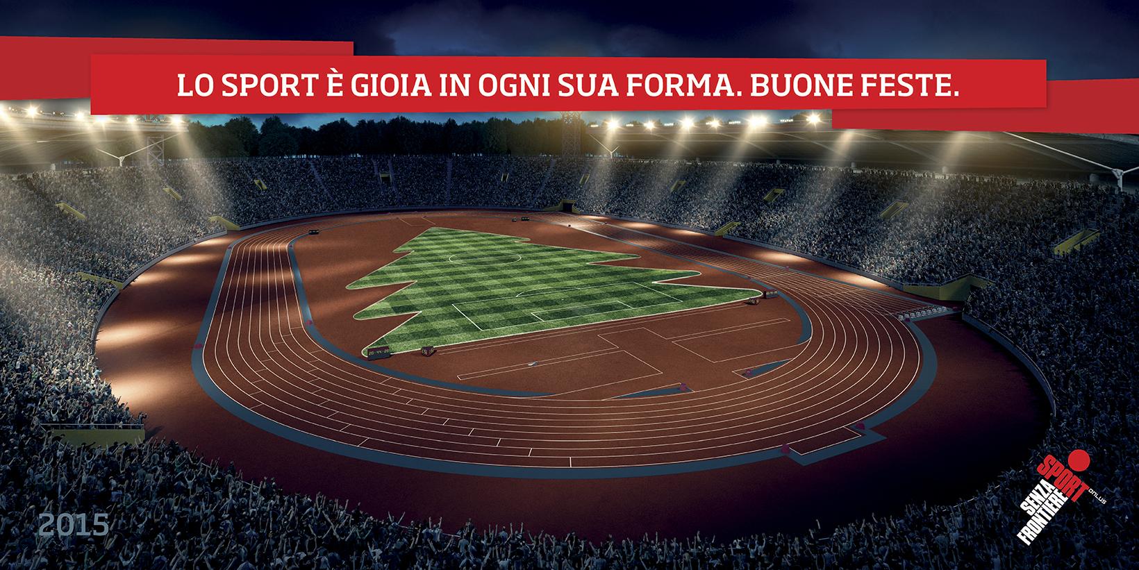 Auguri Natale Sport Senza Frontiere 2015