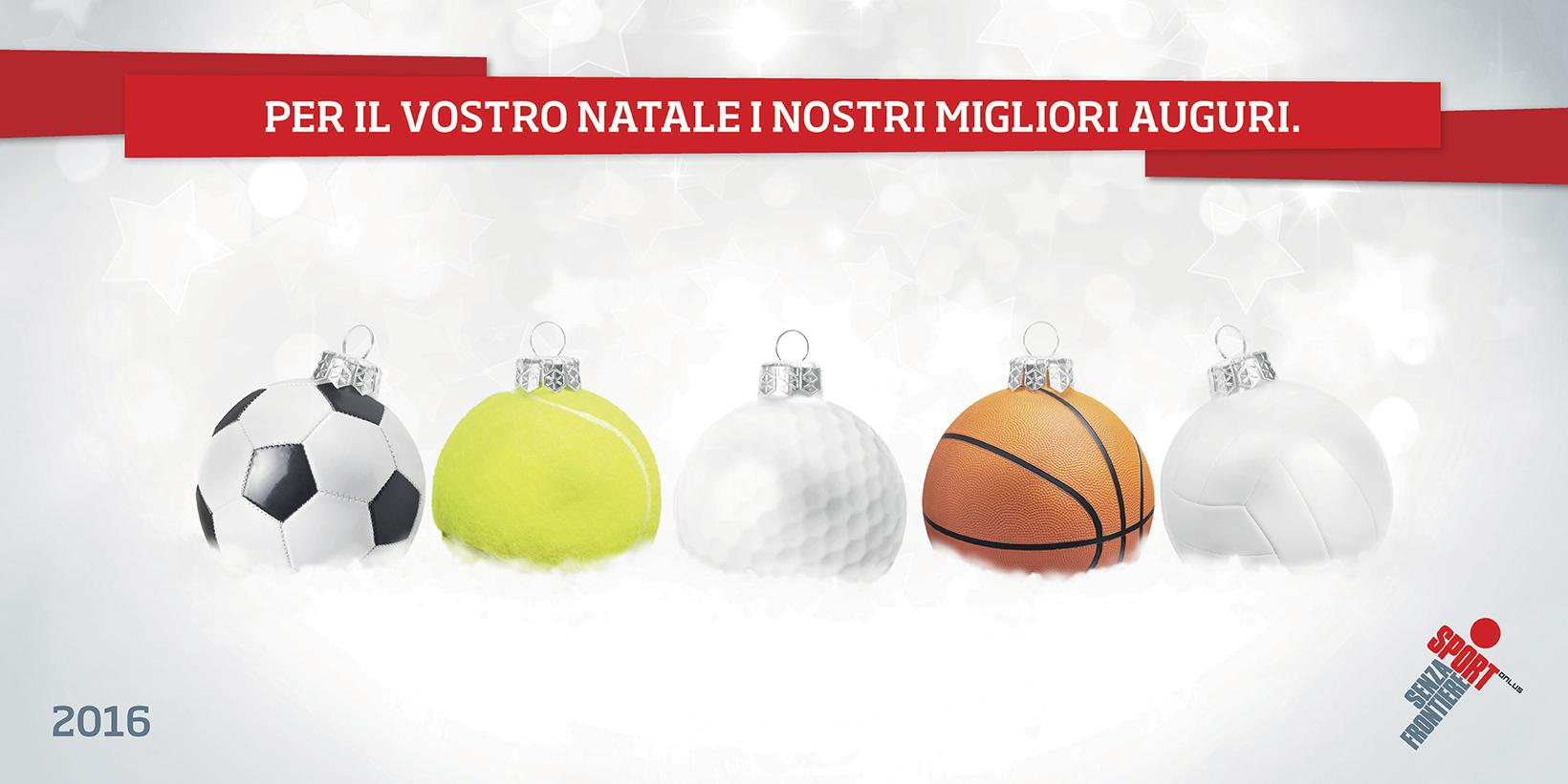 Auguri Natale Sport Senza Frontiere 2016