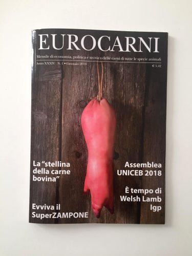 Eurocarni 2019 Copertina- Artecopy
