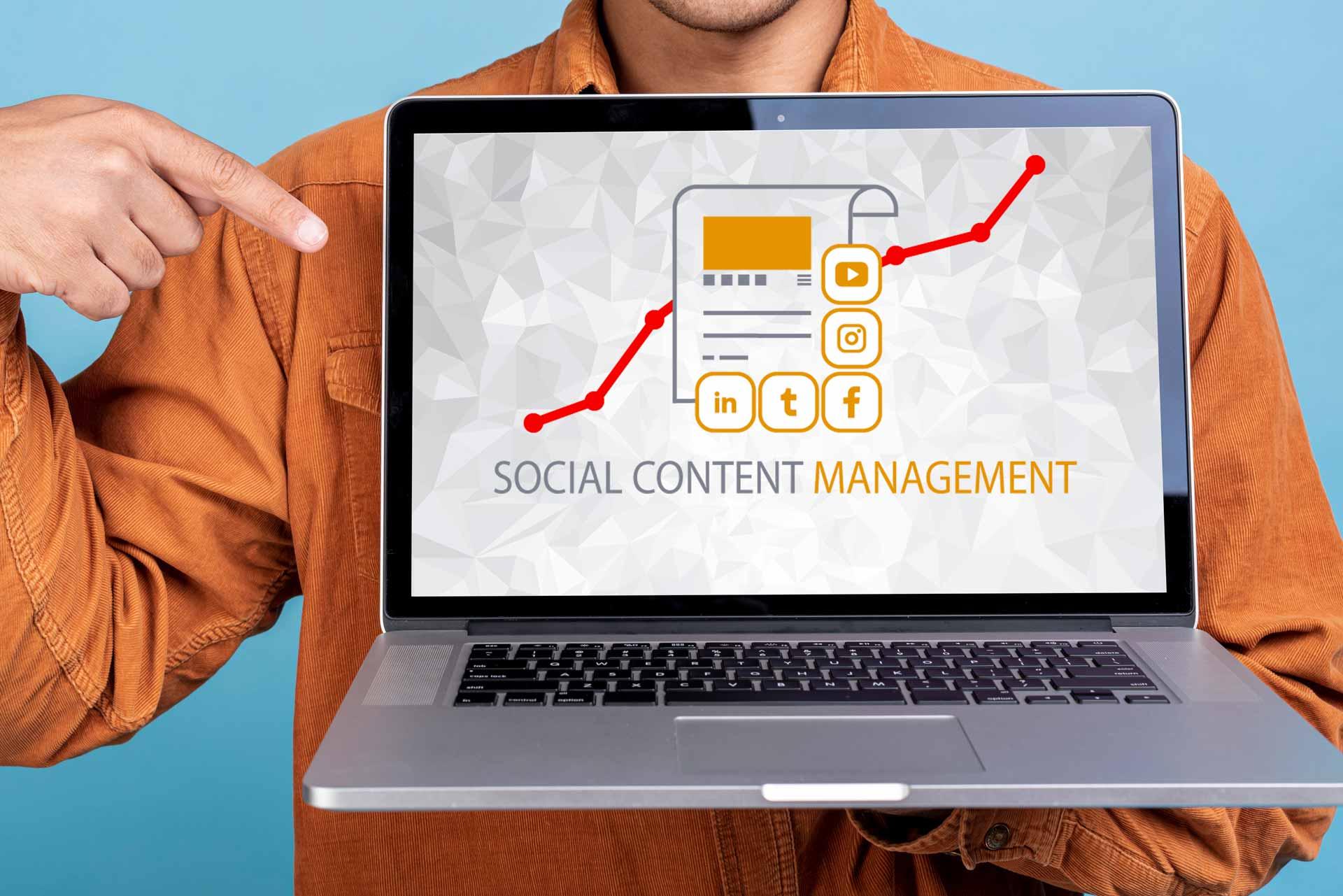 Social-Content-Management