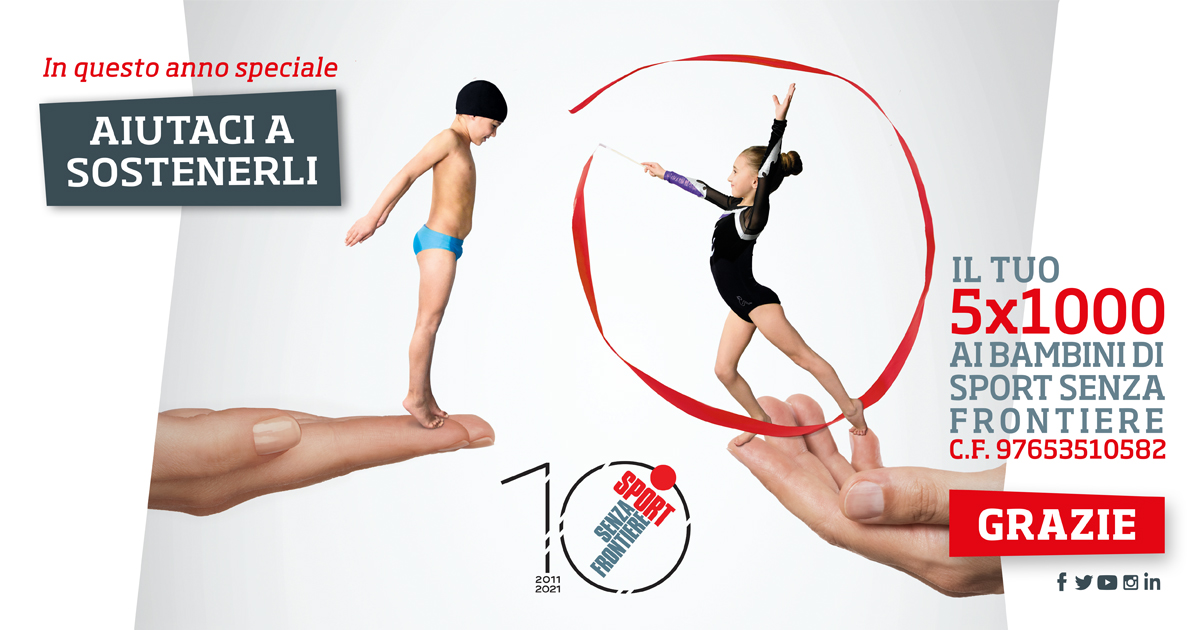 Sport Senza Frontiere 5x1000 2021